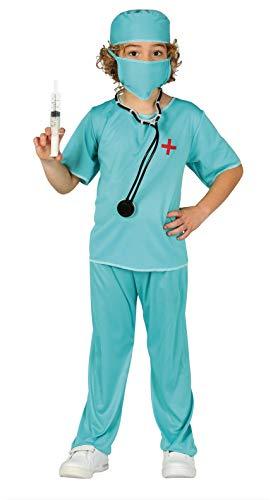 FIESTAS GUIRCA Disfraz Cirujano Infantil 5-6 aos