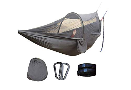 chunqing Tragbare Mehrzweck-Camping-Überlebenshängematte Für 2 Personen Mit Moskitonetzbeutel-Schaukel-Schaukelbett-Zeltmöbel