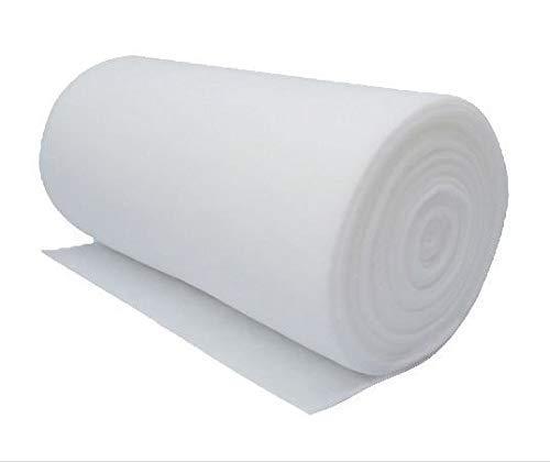 BFS FILTERS Rollo Manta filtrante - Prefiltro G2 Bobina Filtrina ISO COARSE 40% Aire Acondicionado Universal Industrial (Altura 1 m, G2 ISO COARSE 40% | 20 m de Largo, Espesor 10 mm)
