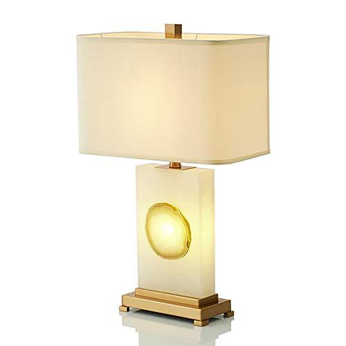 Lievevt Lámpara Escritorio Lámpara Moderna Minimalista Minimalista Mármol Mármol Lámpara de Mesa Creativa Personalidad Diseño Modelo Sala Sala de Estar Dormitorio Lámpara de Mesa 40 * 65cm