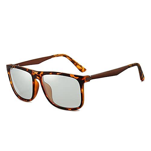 JINZUN Gafas de Sol con decoloración de visión Nocturna, conducción, conducción, Gafas deModa, Unisex