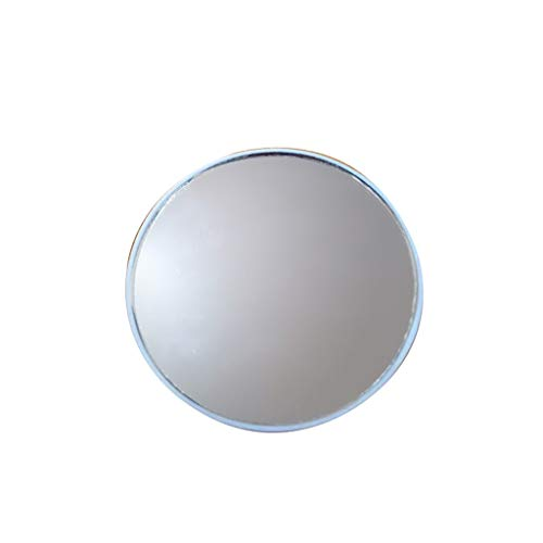 general3 Makeup Mirror 10x Magnifying Vanity Mirror, 3 Inch Round Portable Compact Mini Cosmetic Mirror with 2 Suction Cups, for Travel,Gift (White)