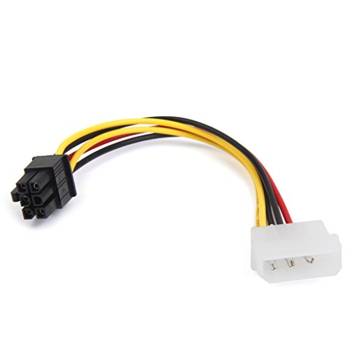 Macho De 4 Clavijas Molex A PCI Cable Adaptador De