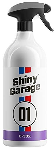 Shiny Garage D-Tox Flugrostentferner Auto - Rostentferner Auto - Rostumwandler - Flugrost Entfernen - Felgenreiniger Alufelgen - Felgen Reinigung - Rust Remover (1 Liter)