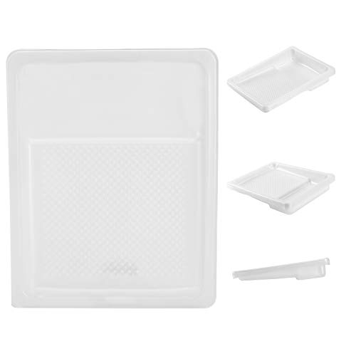 Bates- Paint Tray Liner, 9 Inch, 10 Pack, Paint Roller Tray, Paint Trays, Disposable Paint Tray, Plastic Paint Trays, Paint Pans Trays, Paint Supplies for House Painting, Painting Tray, Roller Tray