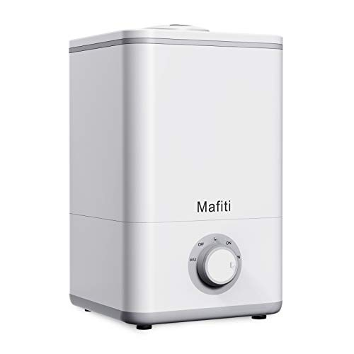 mafiti Humidifiers 1.18 Gallon /4.5L Humidifier for Bedroom Essential Oil Diffuser Waterless Auto Stop Mist Adjustable Moist Large Room Air for Bady Plant for Whole Day
