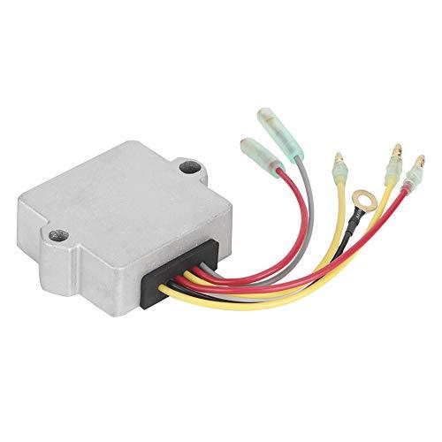 Rectificador regulador de voltaje, regulador de voltaje de barco rectificador de voltaje rectangular apto para fueraborda Mercury 30-125hp 883072T 8M0084173