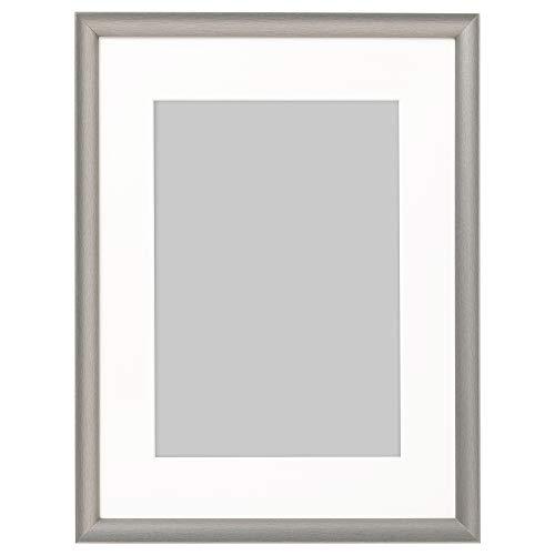 SILVERHÖJDEN ram 30 x 40 cm silverfärgad