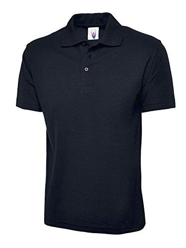 Olympic Schlichtes Poloshirt, kurze Ärmel, Strick, mit Kragen, Freizeit-/ Sport-/ Arbeitsbekleidung Gr. XL, königsblau