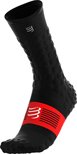 COMPRESSPORT Winter-Socken Chaussettes Homme, Noir, T3