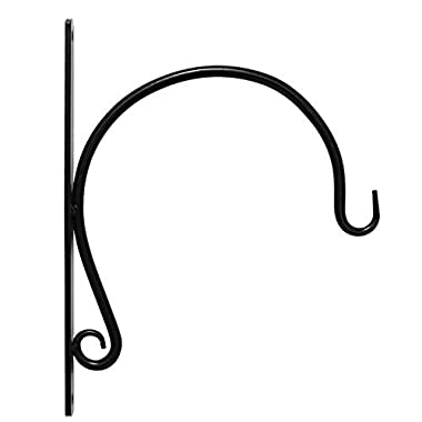 REMARKABLY Sturdy, Hanging Plant Bracket for Heavy Duty DOODADS, Elegant Hook for Wind Chimes, Flower Baskets, Decorative Plants, Wind Spinners, Bird Feeders, Indoor & Outdoor Décor