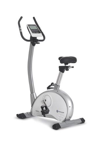 Horizon Fitness Heimtrainer Paros - Bicicletas estáticas (7 kg, Hombre, con Pantalla, Vertical), Color Blanco, Plateado