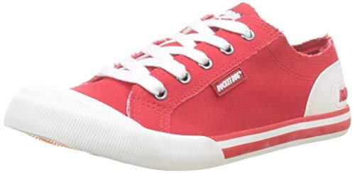 Rocket Dog Jazzin, Zapatillas para Mujer, Red N00, 4 EU
