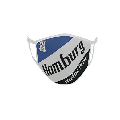 U24 Behelfsmaske Mund-Nasen-Schutz Stoffmaske Maske Hamburg Meine Perle