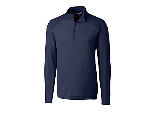 Cutter & Buck Men's Moisture Wicking, 50+ UPF Williams Half Zip Pullover, Liberty Navy, XX-Large