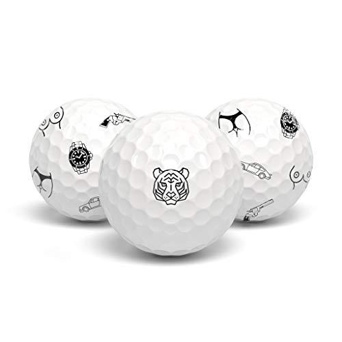 tageez Next Generation Premium Golfballmarkierer - Golfballmarker - Golfball Marker - Magische Ball Markierer ohne Hilfsmittel Golferin und Golfer - 36 Stück für Männer