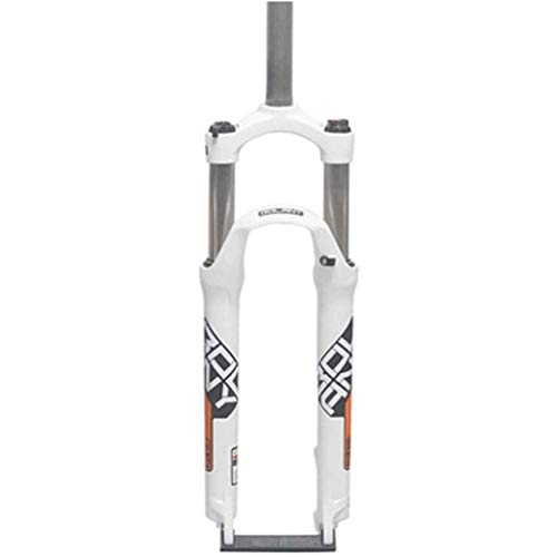 Horquilla Delantera para Bicicleta montaña, MTB para,suspensión para, neumática, Horquilla Resorte Amortiguador aleación Aluminio 26/27.5/29 Pulgadas,B-27.5inch