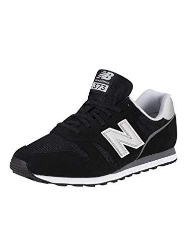 New Balance Herren 373 Core Sneaker, Schwarz (Black/White Ca2), 43 EU