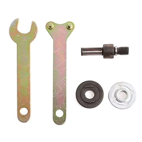 AERVEAL Durable Angle Grinder Tool Parts Kit de Llave de 87 Mm Adaptador de Mandril Soporte de Disco con diámetro Interior 10 Mm, Adaptador de Soporte de Disco