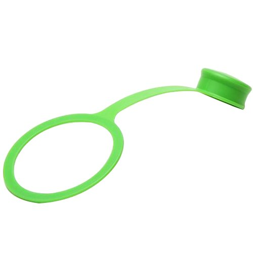 Klean Kanteen Polvo Protección para Deporte Cap 3.0, plástico, Verde, 28 x 18 x 18 cm