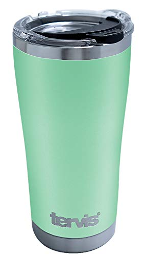 Tervis Powder Coated Stainless Steel Insulated Tumbler, 20oz, Mangrove Green