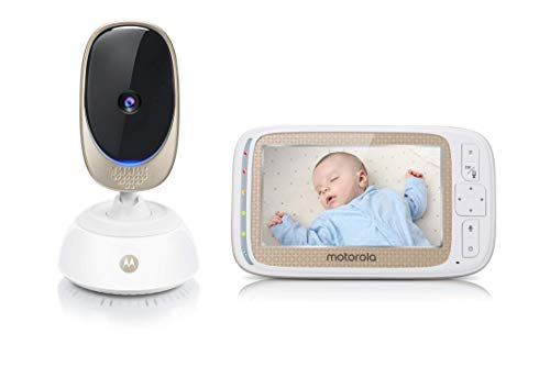 Motorola 501278604014 Baby Comfort 85 Connect - Video-Babyphone Wi-Fi con pantalla LCD a color de 5.0""