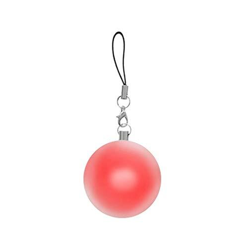 Deke- Purse Round LED Light, Handbag, Original Bag Illuminator. Automatic Motion Sensor Activated Lights. Hand Bag with Jewel case. Keychain Light. Leash Included. Luz cartera, Mochila