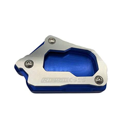 Soporte Placa Para BM&W R1200GS Adv R1250GS Para A&dventure R1200 GS LC, Accesorios De Motocicleta, Soporte Lateral, Soporte De Extensión Para Pie Almohadilla Extensión (Color : A)