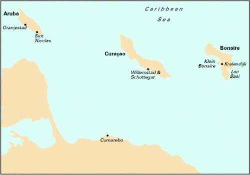 Imray Iolaire Chart D23 2007: Bonaire, Curacao and Aruba