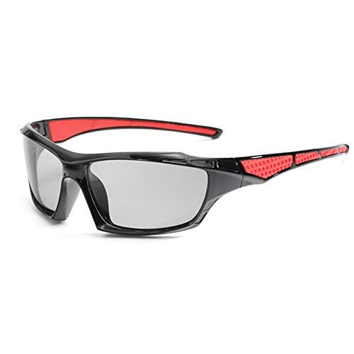 ZYQDRZ Gafas Deportivas, Gafas De Sol De Ciclismo, Gafas De Sol, Hombres Y Mujeres, Adecuados para Ciclismo, Correr, Escalar, Conducir, Pescar, Golf,A