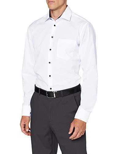 Seidensticker Herren Business Hemd - Bügelfreies Hemd mit geradem Schnitt - Regular Fit - Langarm - Kent-Kragen - Brusttasche - 100{c5f971a64dcbc6bb814057543fcac135c38a57a69008fad8ee6aaf37a9446dc2} Baumwolle