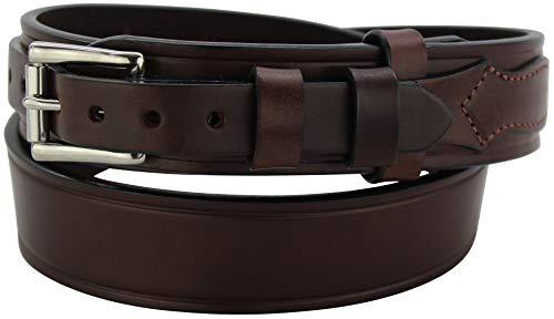 "Men's Leather Stitched Workhorse Ranger Belt – 1.75"" Wide - USA Made"