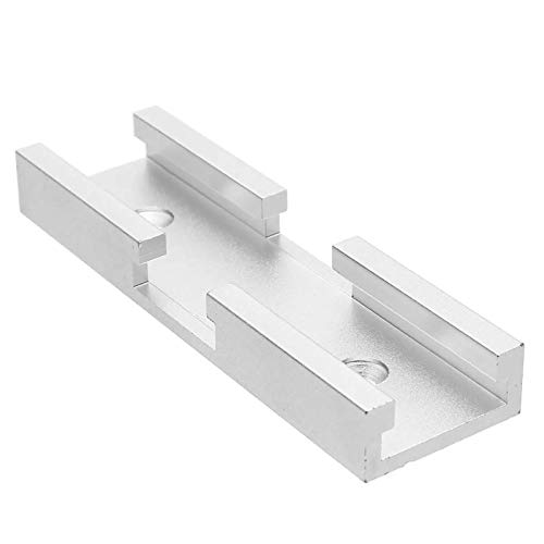 ALEOHALTER Conector de ranura de 80 mm para muebles de carpintería, T-Track Rail Slides Slot Connector,T-Track Conector T Rails Track para muebles de carpintería