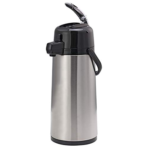 Service Ideas ECAL22S Eco-Air Airpot with Lever Lid, 2.2 L, Glass Lined