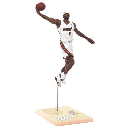 NBA Miami Heat McFarlane 2012 Series 21 LeBron James figurine