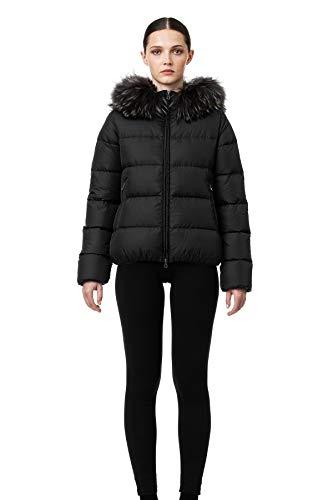 Duvetica Damen Trainingsjacke, Schwarz 36