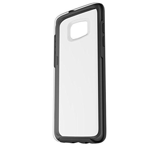 OtterBox Symmetry sturzsichere Schutzhülle für Samsung Galaxy S7 Edge, schwarz/transparent
