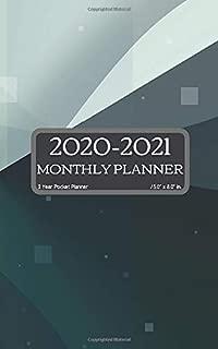 2 Year Pocket Planner 2020-2021: Jan 2020 to Dec 2021 Two Year Monthly Calendar Planner W/ To-Do List, Notes, Birthday Log, Yearly Goals Schedule ... (2020/2021 Full 2-year Planner Organizer)