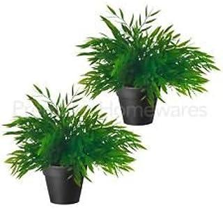 Planta artificial en maceta de IKEA, de la colección FEJKAde surtido de hierbas y tamaño de 10 cm