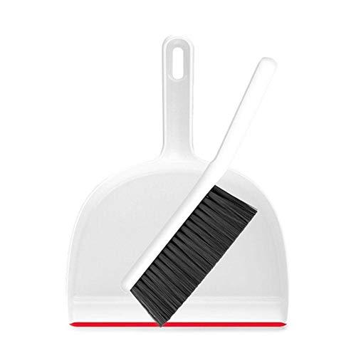 Saddpa Mini-bezem-en veegmachine, voor het schoonmaken van kleine schoonmaakborstels, huishoudelijk werk