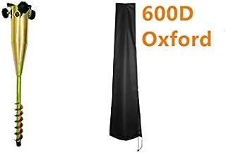 LamYHeng 22Inch Long Soild Metal Rod Holder Beach/Garden Umbrella Sand with 600D Parasol Cover for 7FT to 11FT Umbrella