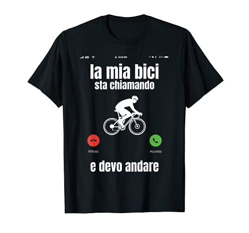 Ciclista Bici Ciclismo Bicicletta Divertente Maglietta