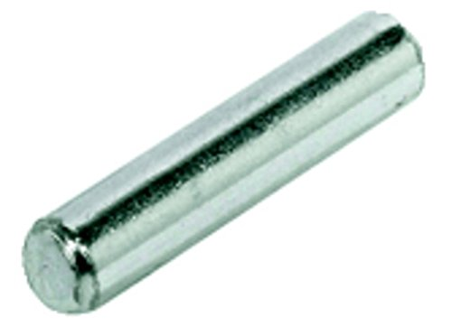 40pezzi pihami Reggimensola Ø 5mm, metallo zincato, per 5mm Foro fori, BULLONI senza bordo