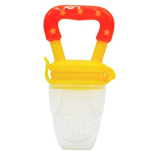 Kids Nipple Fresh Food Milk Nibbler Feeder Feeding Safe Nipple Teat Pacifier Bottles Silica Gel Bag of Security and Comfort