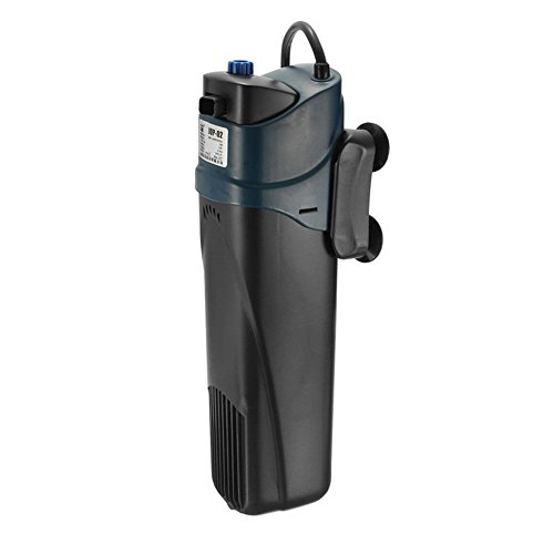 Etiger Aquarium Power Filter Pump, UV Sterilizer Submersible Oxygen Pump Filter, Water Cycle Oxygen Pump for Aquarium Fountain Pond Fish Tank
