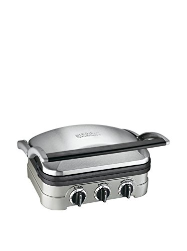 Cuisinart GR-4N 5-in-1 Griddler,...