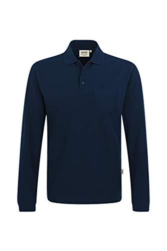 Longsleeve-Pocket-Poloshirt Top #809