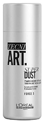 L'Oréal Professionnel Paris Tecni.ART Super Dust, mattierendes Stylingpuder, für extravagantes Volumen, 7 g