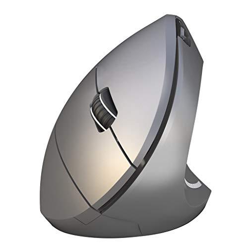 EPMEA0 Ergonomische Vertikale Bluetooth 3.0 Wireless Gaming-Maus 2400DPI 4 Tasten for Linderung und...