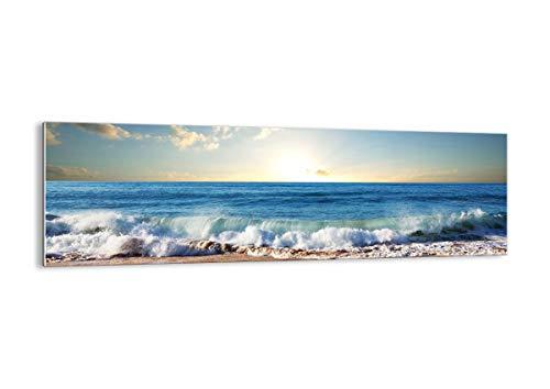Bild auf Glas - Glasbilder - Einteilig - Breite: 160cm, Höhe: 50cm - Bildnummer 3551 - zum Aufhängen bereit - Bilder - Kunstdruck - GAB160x50-3551